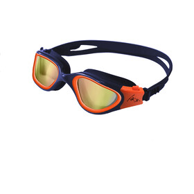Zone3 Vapour Schwimmbrille Polarized polarized lens-navy/hi-vis orange